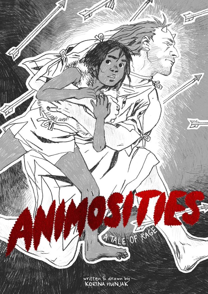 Korina Hunjak's Animosities comic book cover.